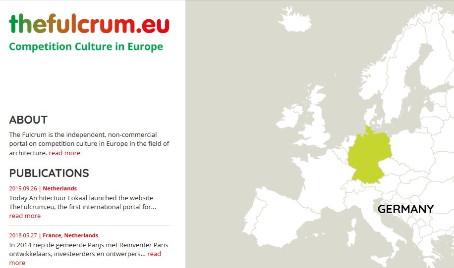 Building culture in Europe: First portal for architectural commissions in all EU countries