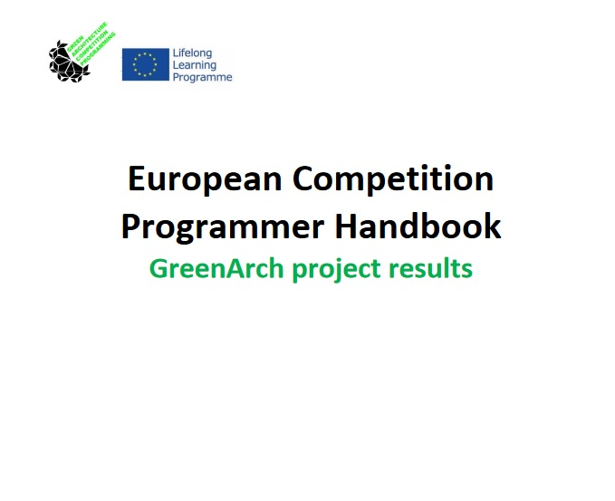 European Competition Programmer Handbook GreenArch project results